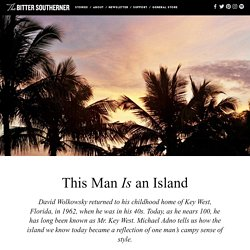 This Man is an Island