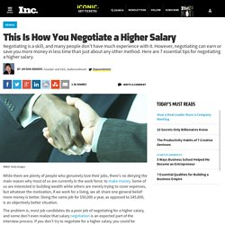 This Is How You Negotiate a Higher Salary