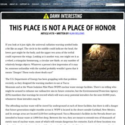 This Place is Not a Place of Honor