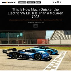 This Is How Much Quicker the Electric VW I.D. R Is Than a McLaren 720S