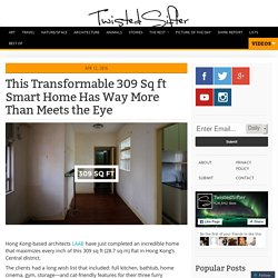This Transformable 309 sq ft Smart Home has Way More Than Meets the Eye