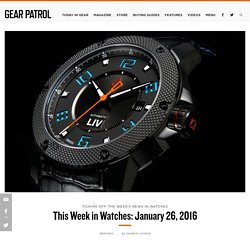 This Week in Watches: January 26, 2016