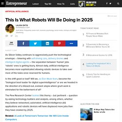 This Is What Robots Will Be Doing in 2025