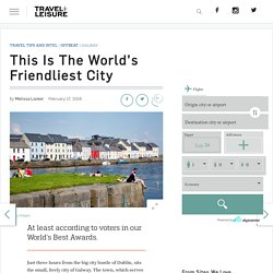 This is the World's Friendliest City