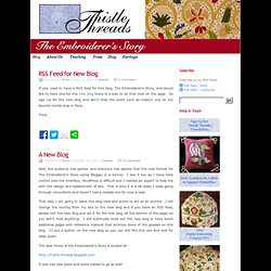 Thistle Threads Blog