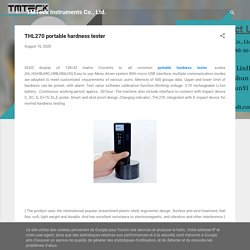 THL270 portable hardness tester