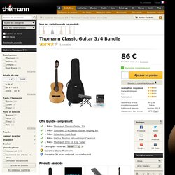 Classic Guitar 3/4 Bundle