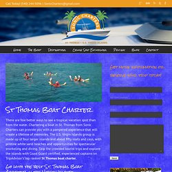 St Thomas Boat Charter with Sonic Charters in the Virgin Islands