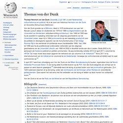 Thomas von der Dunk