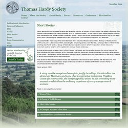 Thomas Hardy Society