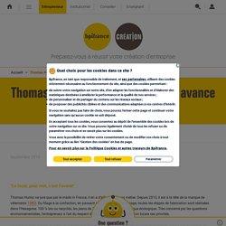 Thomas Huriez, l'entrepreneur qui avance à 1083 km/h