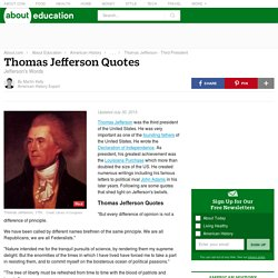 Thomas Jefferson - Quotations