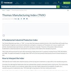 Thomas Manufacturing Index (TMX)