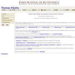 Thomas Piketty - capitalisback