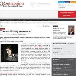 Thomas Piketty se trompe