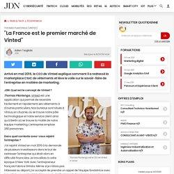"""Thomas Plantenga (Vinted):""""La France est le premier marché de Vinted"""""""