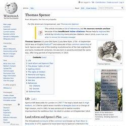 Thomas Spence