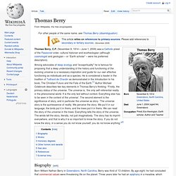 Thomas Berry