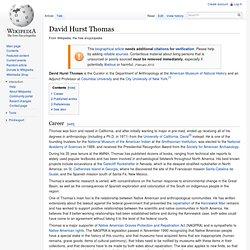 David Hurst Thomas