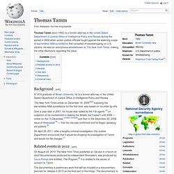Thomas Tamm