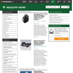 The complete source for the latest industrial news solutions.