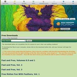 Patsy Thompson Designs: Free Downloads