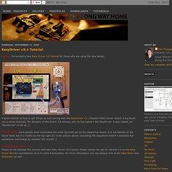 EasyDriver v3.1 Tutorial
