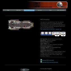 Peter Thompson EotE Vehicles and Deckplans - Medium Craft