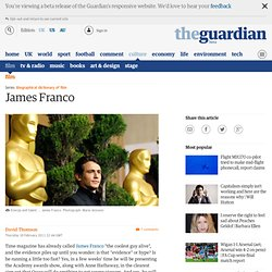 David Thomson on James Franco