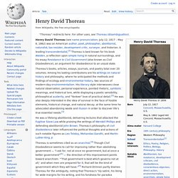 a research on henry david thoreau and his classic essay civil disobedience Walden & civil disobedience has 31666 ratings and 911 reviews  published  august 3rd 2004 by signet classics  this month, two hundred years ago,  henry david thoreau made his way into the world thus it  unbearable to  listen to, but i did complete both walden and the essay on the duty of civil  disobedience.