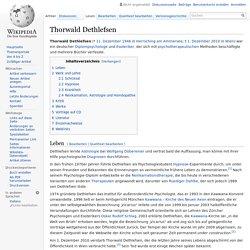 Thorwald Dethlefsen