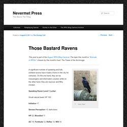 Those Bastard Ravens