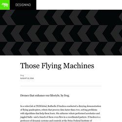 Those Flying Machines