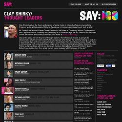 Thought Leaders with Clay Shirky