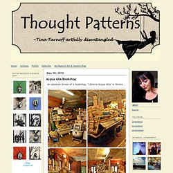 THOUGHT PATTERNS: Bookstores