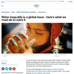 Thought water scarcity was a developing world problem only? Think again
