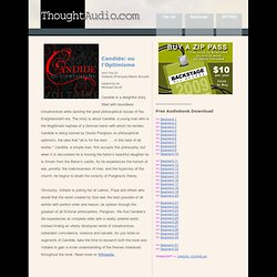 Candide by Voltaire, free audio book download