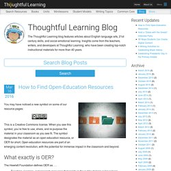 Thoughtful Learning Blog