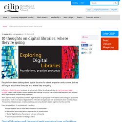 10 thoughts on digital libraries: where they're going