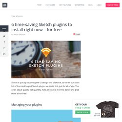 6 time-saving Sketch plugins to install right now—for free