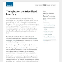 Thoughts on the Friendfeed interface - Bokardo - Mozilla Firefox