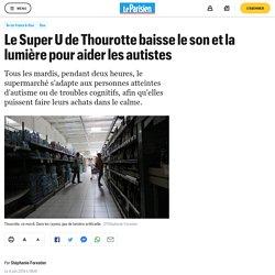 Le Super U de Thourotte baisse le son et la lumière pour aider les autistes