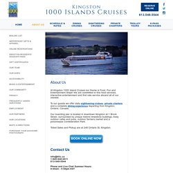 Thousand Island Sightseeing Tour