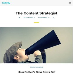 How Buffer's Blog Posts Get Shared Thousands of Times