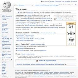 Thoutmôsis