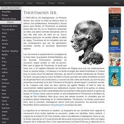 THOUTMOSIS
