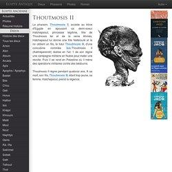 THOUTMOSIS II