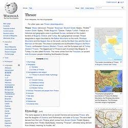 Thrace