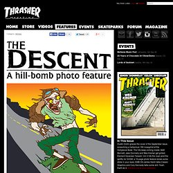 The Descent: Hill-Bomb Photo Feature
