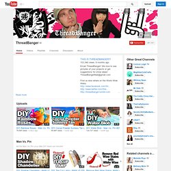 ThreadBanger - D.I.Y Fashion & Style
